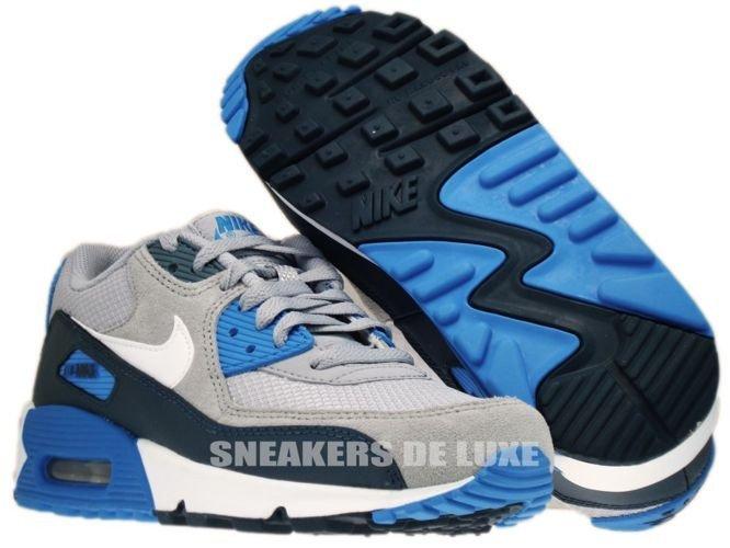 nike air max 90 grey and blue