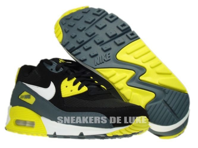 newest 671a6 675a8 ... coupon code for 537384 017 nike air max 90 essential black white sonic  yellow armory 2dc2f ...