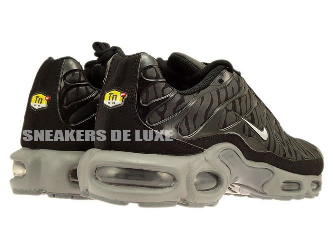 ... Nike Air Max TN Black And Silver ...