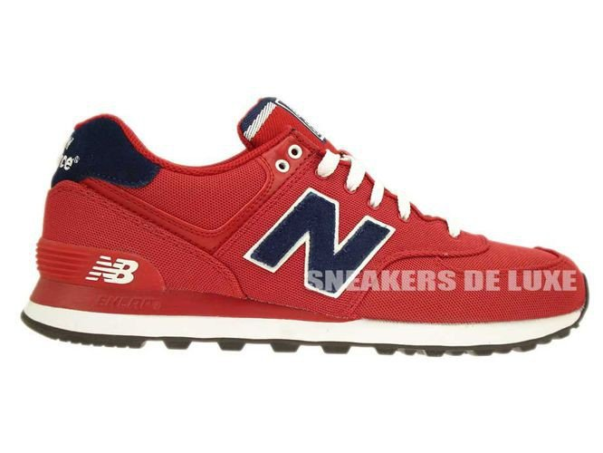 ML574POR New Balance Pique Polo Pack Red ...