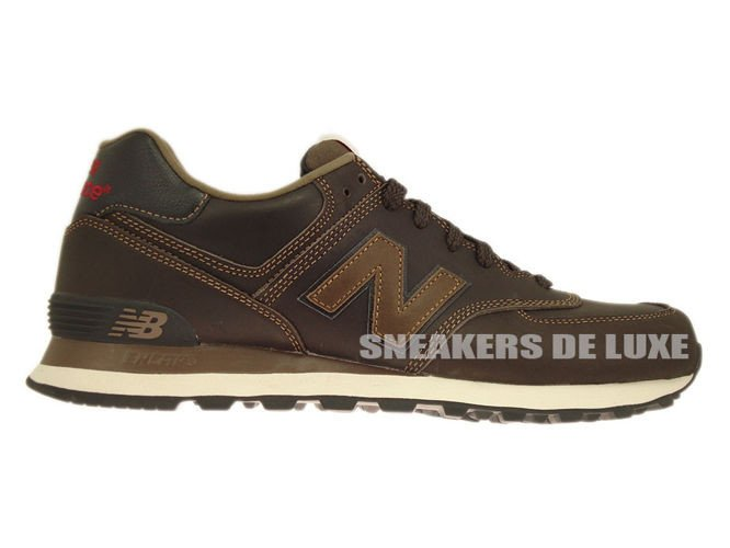 new balance 574 core brown