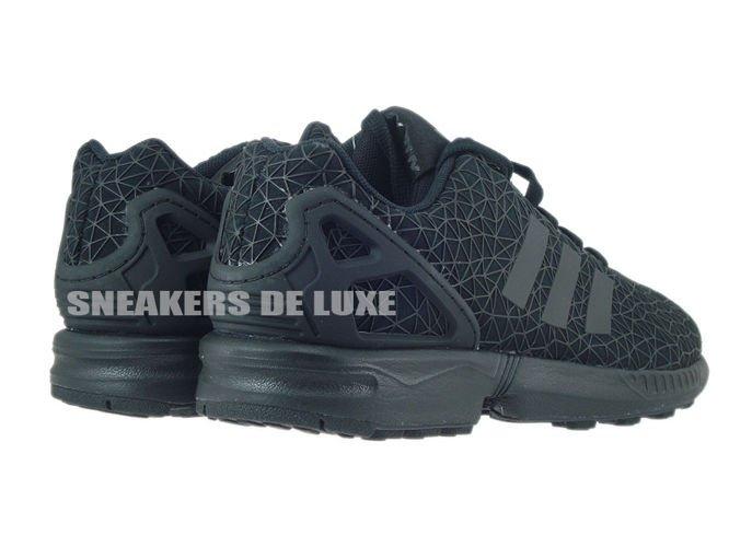 Adidas Zx Flux Core Black Metallic
