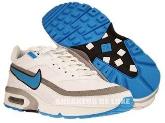 309207-100 Nike Air BW Classic White/Marina Blue-Metallic Silver