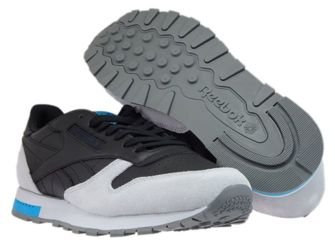 BD4414 Reebok Classic Leather GN Black/Cloud Grey/Alloy/Caribbean Teal