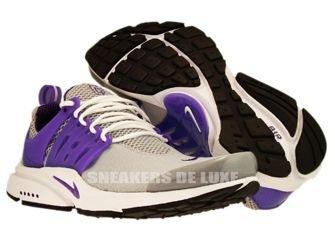 302743-007 Nike Air Presto Wolf Grey/Club Purple-Black-White